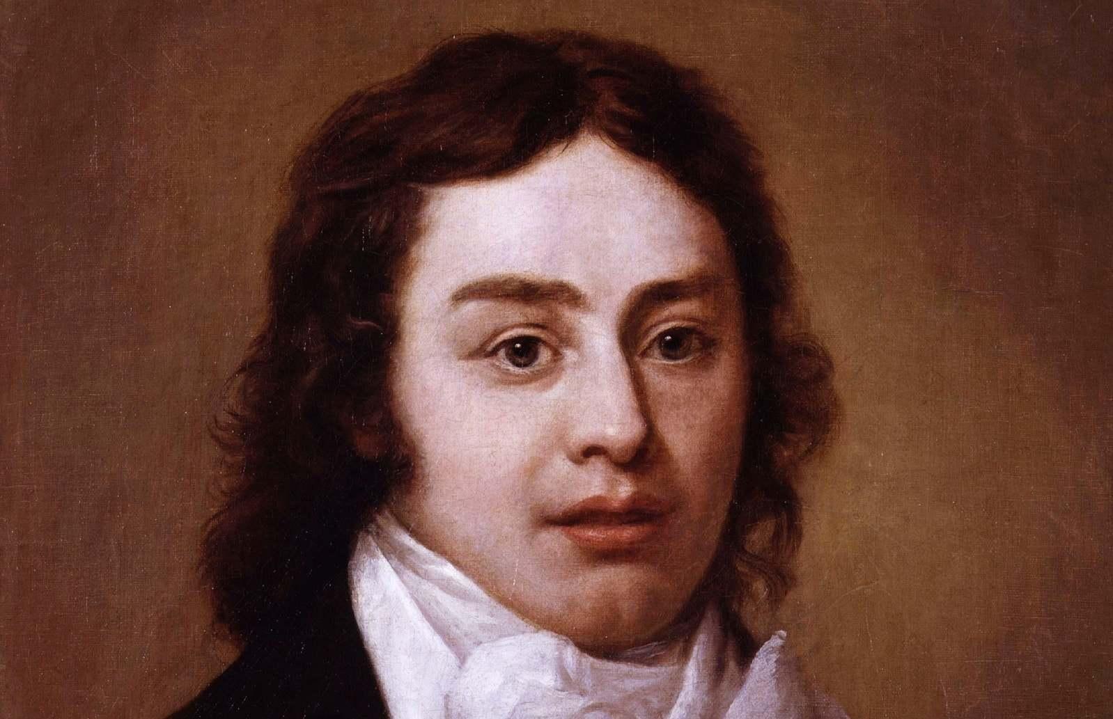 A portrait of Samuel Taylor Coleridge