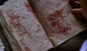 The Necronomicon as represented in the movie Evil Dead