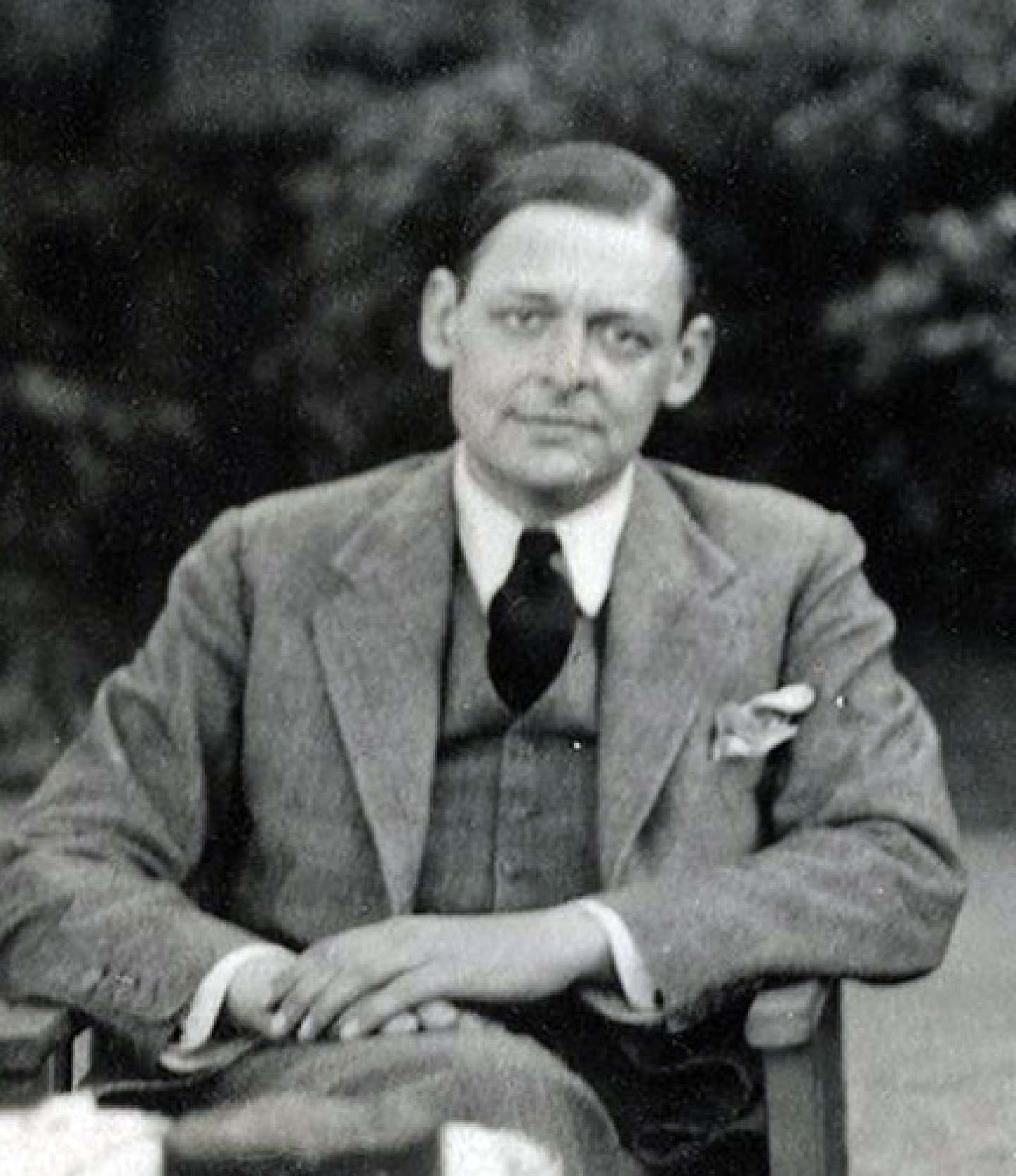 A photo of T. S. Eliot